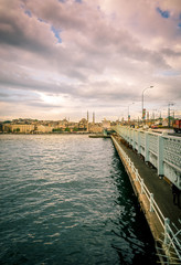 Galata bridge early in the morning