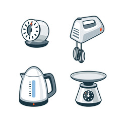 Home Appliances 4 - Timer, Mixer, Electric Kettle, Kitchen Scale
