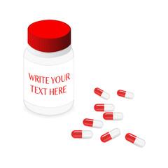 Pillbox and capsules