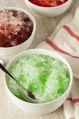 Refreshing Homemade Shaved Ice