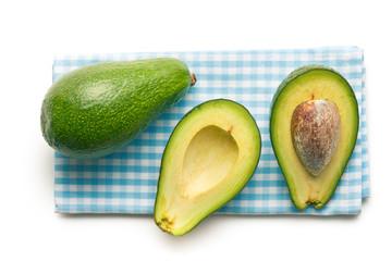 halved avocados