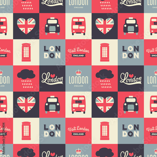 Seamless London Background - 67048404