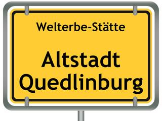 Welterbe-Stätte Altstadt Quedlinburg