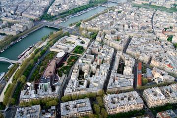 Париж. Вид с Эйфелевой башни