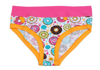 Women's Cotton panties with pattern donuts