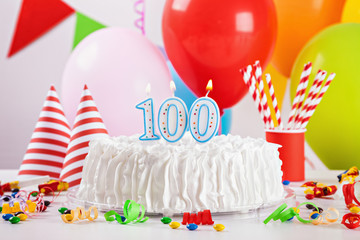 Birthday Cake And Decoration