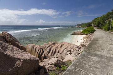 Strand mit Weg