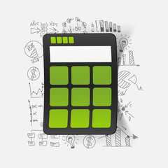 Drawing business formulas: calculator