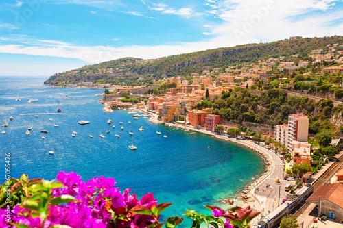 Staande foto Kust Luxury Resort, Villefranche sur Mer, French Riviera, Côte d'Azur