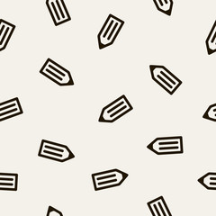 seamless background: pencil