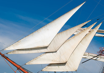 Bowsprit with staysails