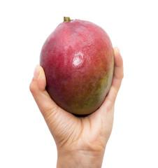 mango in hand