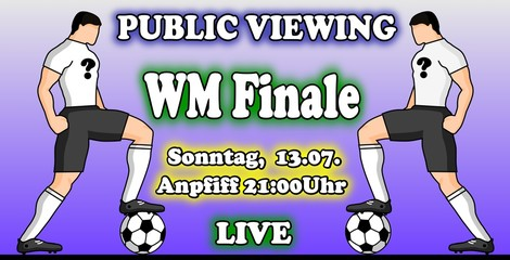 WM Finale Public Viewing