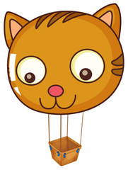 A big cat balloon