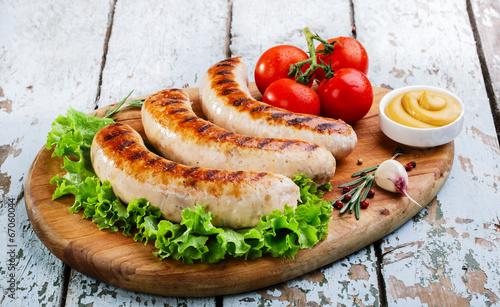 Grilled chicken sausages - 67060044