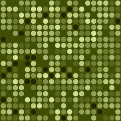Vector seamless green mosaic pattern. Eps10