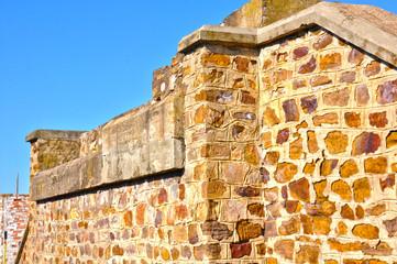 Puertollano, arquitectura, muro, piedra, mampostería