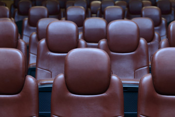 Empty Cinema Chairs