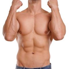starker Männerkörper