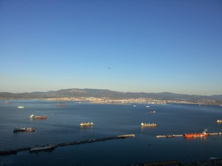 Shipping straits from Gibraltar