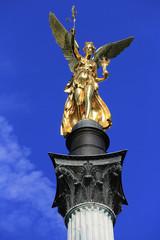 Münchener Sehenswürdigkeit: Der Friedensengel