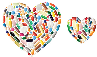 Heart of pills