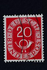 Posthor_alte Deutsche Briefmarke 3