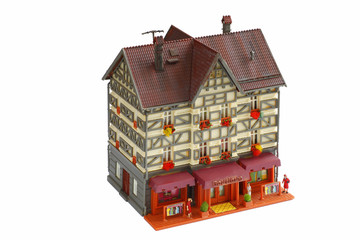 Rustikal Stadthaus_Modell