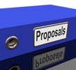 File Proposals Means Project Management And Administration
