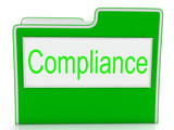 Compliance Files Shows Agree To And Comply poster