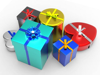 Giftbox Giftboxes Represents Gift-Box Giving And Surprise