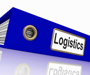 Logistics File Shows Correspondence Folders And Systematic