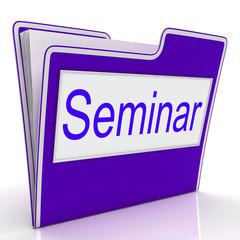 Seminar File Represents Convention Speaker And Seminars