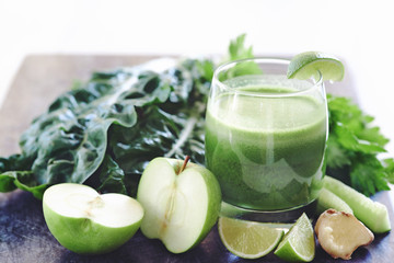 Healthy green juice cleanse, detox for healthy lifestyle