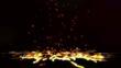 Falling Bounce Fire Larva Particles Loop