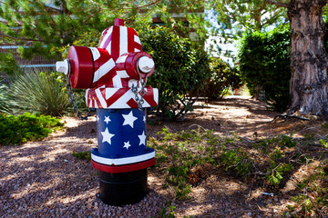 Patriot Fire Hydrant