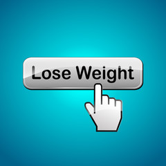 Vector lose weight illustration