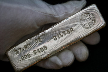 27.80 Troy Ounce Silver Bullion Bar