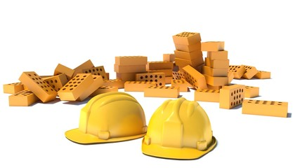 Construction and building industry concept