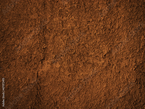 Leinwandbild Motiv soil dirt texture with some fine grain