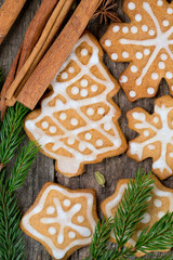 spicy Christmas cookies