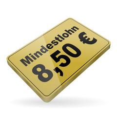 karte v4 mindestlohn 8,50 euro I