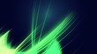 abstract green neon lines background