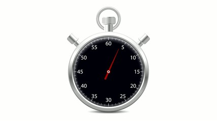 Stopwatch black - 60 Seconds