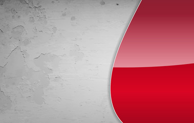 Red and grey grunge background