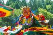 Leinwanddruck Bild - Tsechu Festival in Thimphu, Bhutan