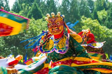 Tsechu Festival in Thimphu, Bhutan