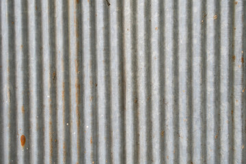 Old Texture and rusty zinc fence