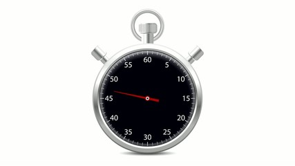 Stopwatch 2 - One minute in 5 seconds
