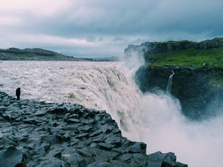 Detifoss waterfall, north Iceland